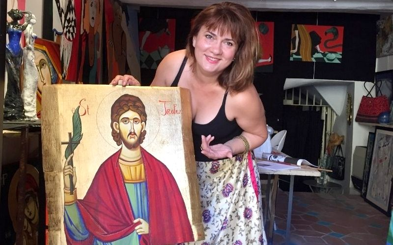 Interview de l'artiste peintre internationale Natalija Vincic