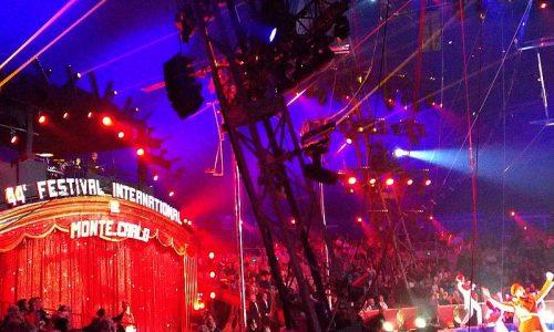 Monte Carlo international circus festival