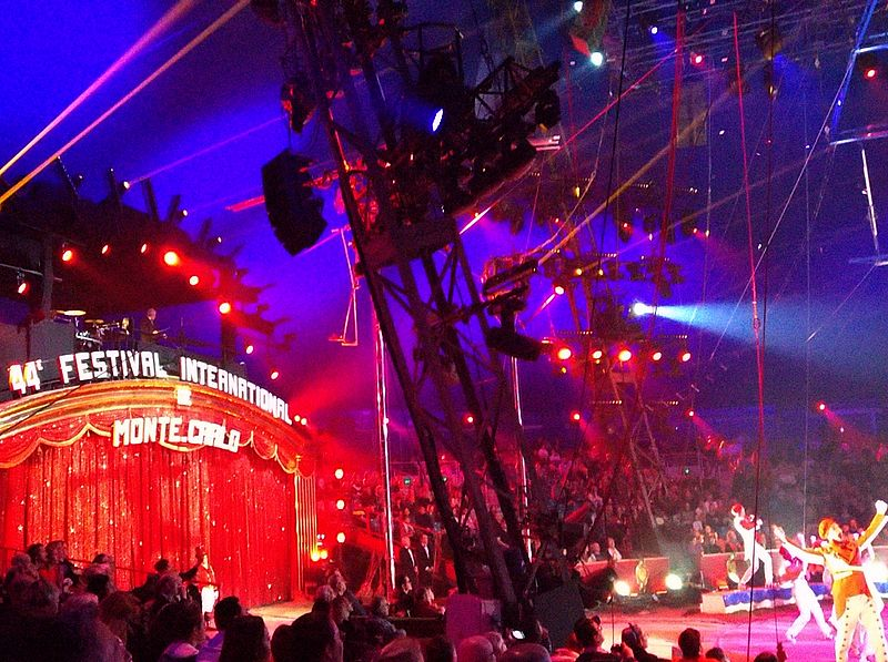 Monte Carlo international circus festival
