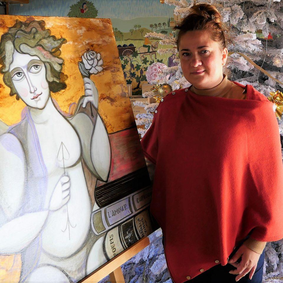 Natalija vincic au CHâteau Roubine en Dracénie
